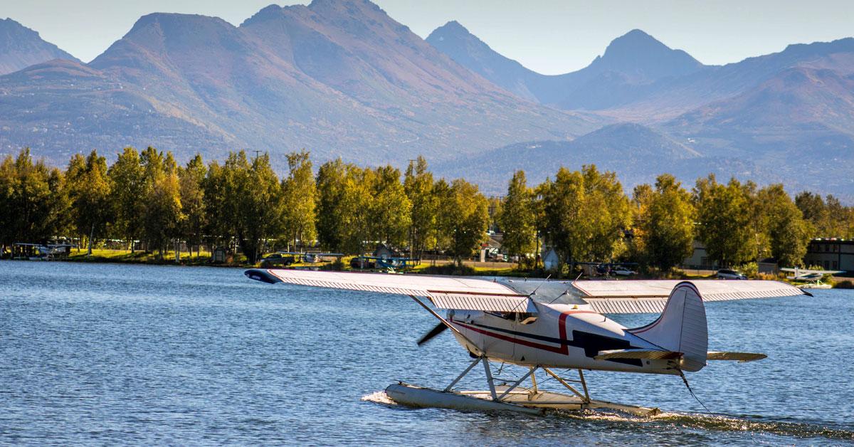 Anchorage - za prírodou do USA
