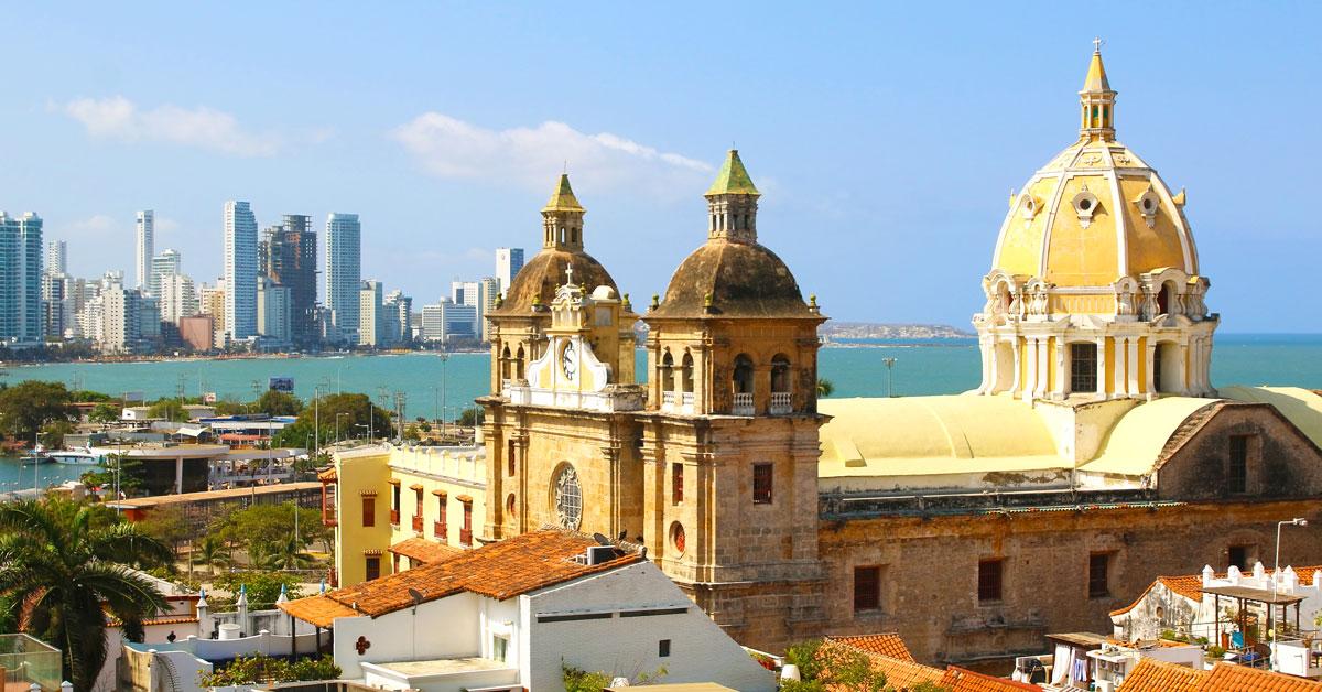 Cartagena - Kolumbia z druhej strany