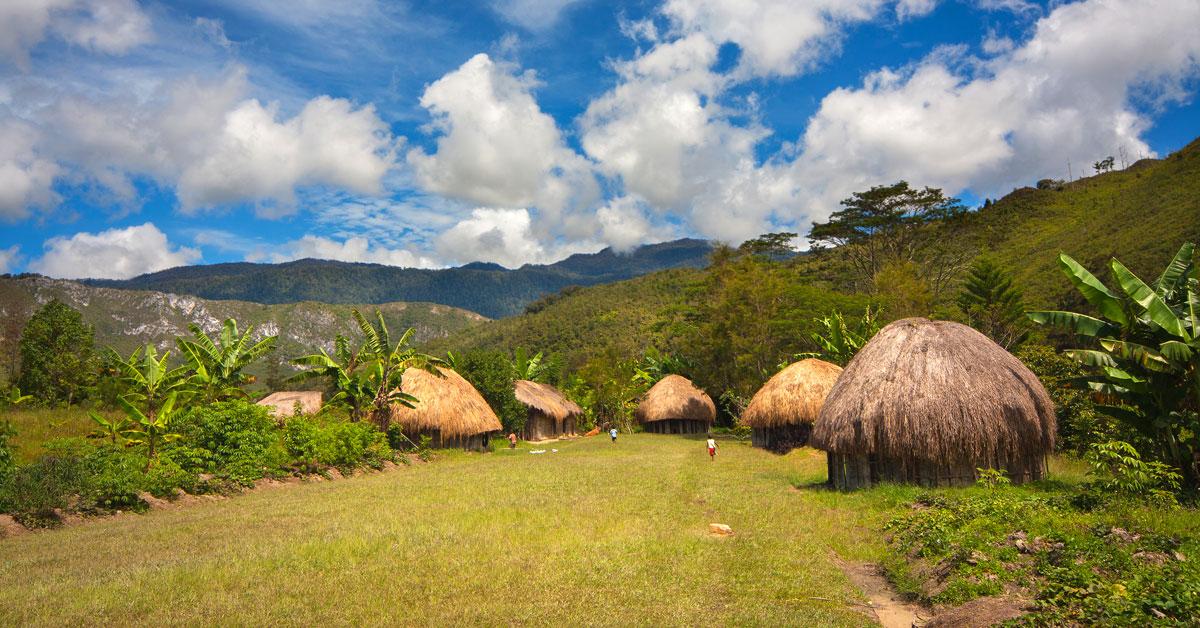 Papua-Nová Guinea - drsná rajská záhrada
